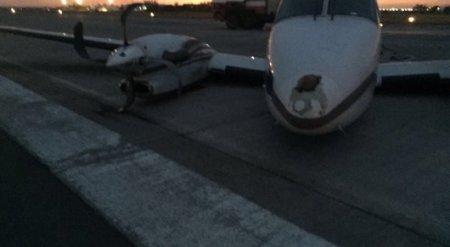 ЧП в аэропорту Уральска: самолет не повредил взлетную полосу