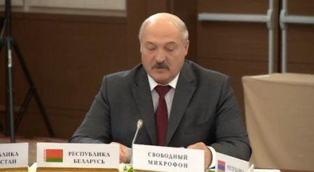 Лукашенко произнес жесткую речь перед президентами стран СНГ