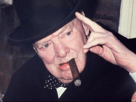 Недокуренная сигара Черчилля продана за 12 тысяч долларов на аукционе в США