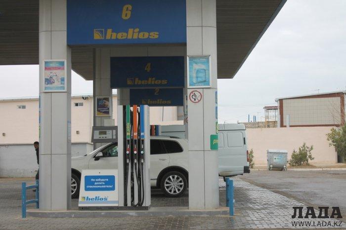 Цена за литр сжиженного газа на автозаправках «КазМунайГаз» в Актау выросла до 45 тенге