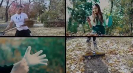 Необычное видеоприглашение на субботник опубликовал молодой аким Кулагин