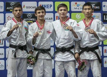 Бауыржан Нарбаев из Мангистау завоевал «бронзу» на чемпионате мира по дзюдо
