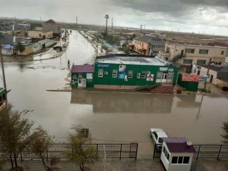 Потоп в Мунайлинском районе