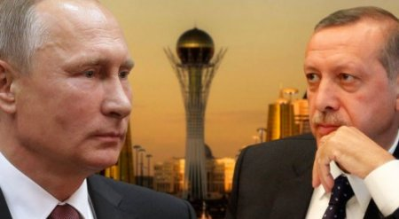 Путин и Эрдоган обсудили по телефону Астану