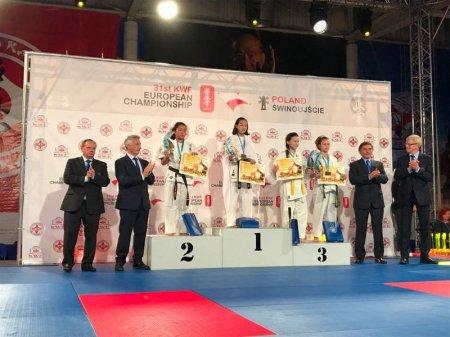Спортсмены из Актау завоевали три медали на чемпионате Европы по карате-киокушинкай