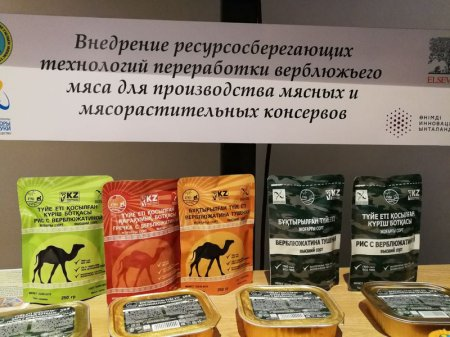 Верблюжью тушенку будут производить в Казахстане