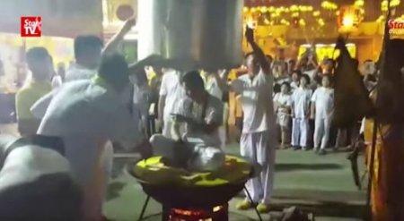 """""""Неуязвимый"""" малайзийский гуру погиб в кипящем котле"""