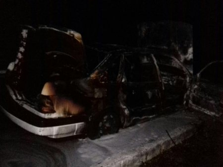 О причинах возгорания автомобиля в Приозёрном рассказали в УЧС Актау