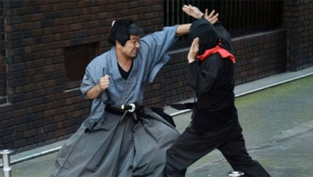 В Японии задержали пожилого грабителя-ниндзя