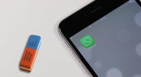Как удалять в WhatsApp полученные адресатом сообщения