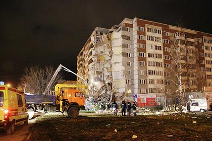 Число погибших при обрушении дома в Ижевске увеличилось до трех