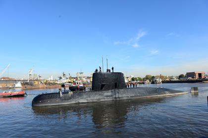 Россия отправит на поиск аргентинской субмарины подводный беспилотник