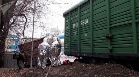 ЧП на АЗС в Алматы: район обесточен, 30 человек эвакуированы