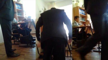 Казахстанский учитель бил, материл и угрожал убийством ученику