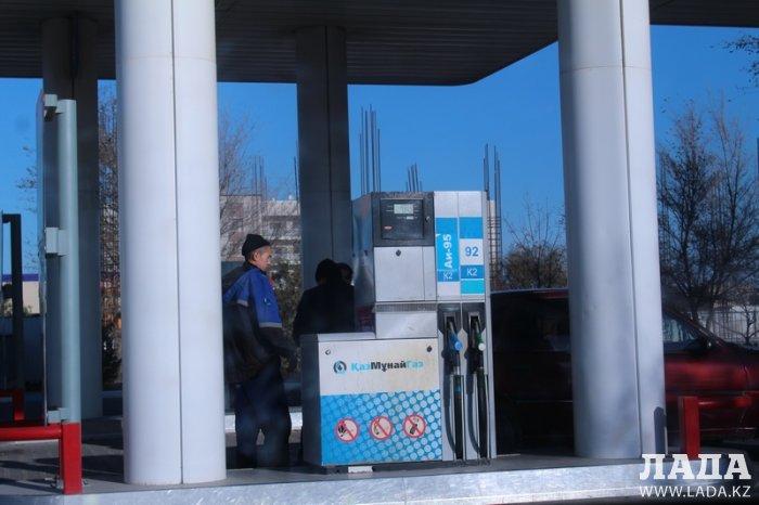 Обзор ситуации на автозаправках Актау 15 ноября