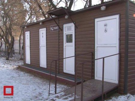 Два уличных туалета по цене квартиры установили в Павлодаре
