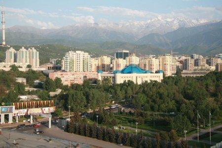 В Алматы журналист сковал себя наручниками из-за поправок к закону о СМИ