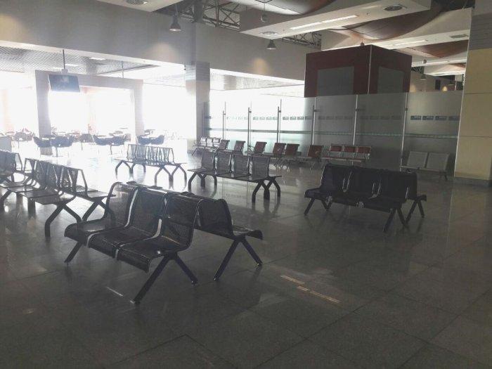 На условия в аэропорту Актау пожаловался пассажир