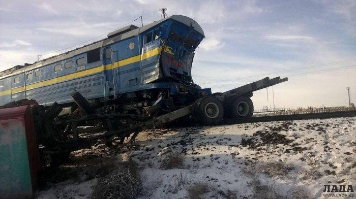Десять аварий на железнодорожных переездах в Мангистау