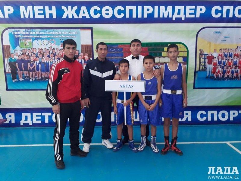 Спортсмены из Мангистау завоевали девять медалей на республиканском турнире по боксу