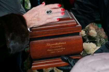 Власти прояснили судьбу урны с прахом Хворостовского