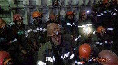 Бастующие шахтеры просят не привлекать их к уголовной ответственности