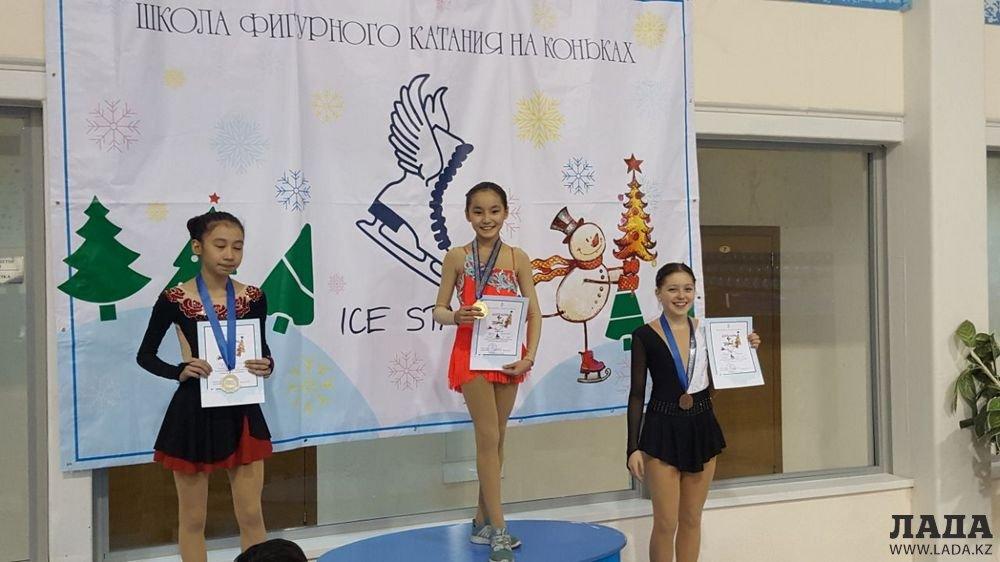 Юные фигуристы из Мангистау завоевали пять медалей на турнире в Астане