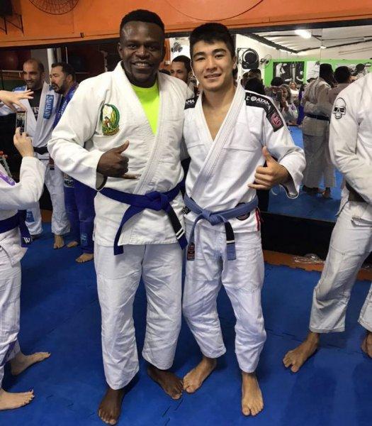 Дархан Нортаев из Актау завоевал «бронзу» международного турнира по джиу-джитсу в Бразилии