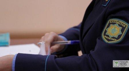 Задержан прокурор Степногорска