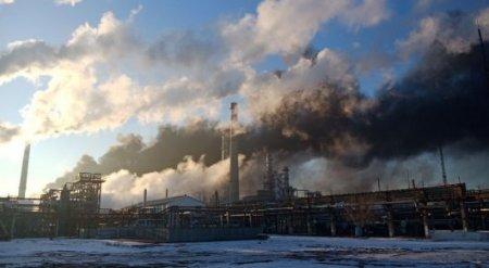 Возгорание на АНПЗ: В компании ожидают падение в 2 раза переработки нефти