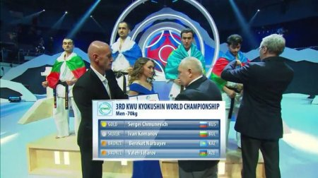 Спортсмен из Актау завоевал «бронзу» чемпионата мира по киокушинкай карате