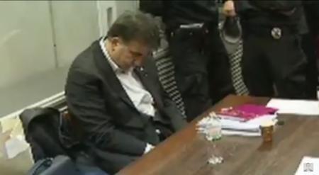 Странное поведение Саакашвили в суде связали с употреблением наркотиков