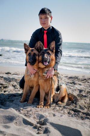 Определены победители конкурса «Я и моя собака»
