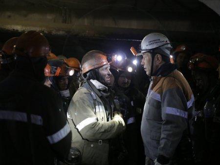 "Завершилась забастовка на шахтах АО ""АрселорМиттал Темиртау"""