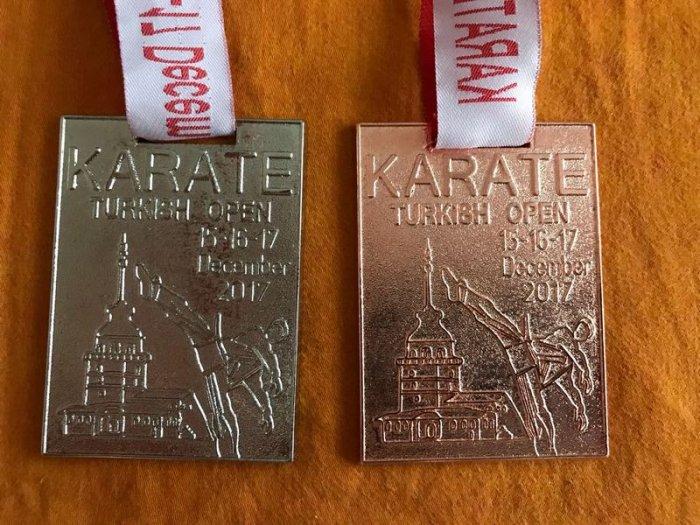 Актауская каратистка София Ключник привезла две медали с международного турнира в Стамбуле