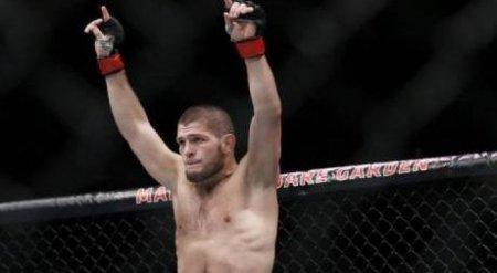 Непобежденный Хабиб Нурмагомедов одержал 25-ю победу в карьере на турнире UFC в Лас-Вегасе