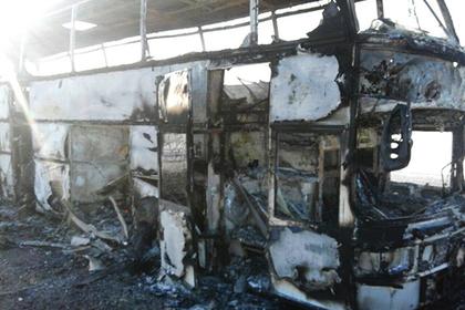 Сгоревшие в казахстанском автобусе грелись паяльной лампой и разлили бензин