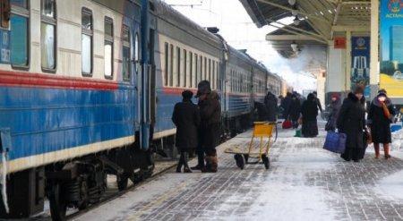 Расписание поездов изменилось в Казахстане
