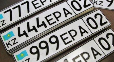 Депутат предложил разрешить писать на номерах имя автовладельца