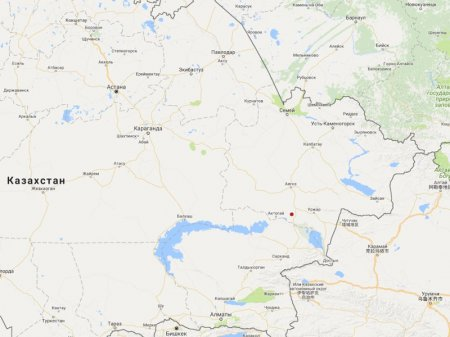Землетрясение произошло в Казахстане