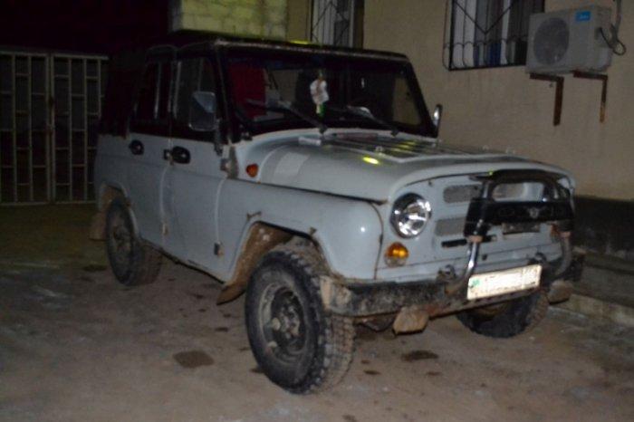 Автомобиль с рыбой осетровых пород задержали мангистауские полицейские