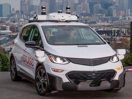 Беспилотный автомобиль планирует выпустить General Motors в 2019 году