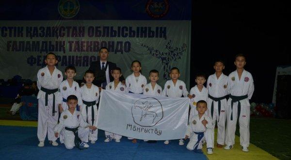 Тхэквондисты из Актау стали обладателями 17 медалей на Кубке ЮКО