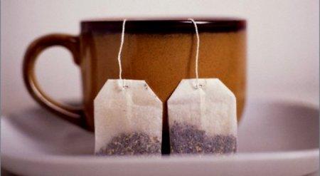 Названа опасность чайных пакетиков