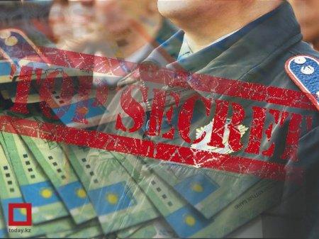 """В МВД РК """"засекречены"""" траты на содержание казахстанских полицейских"""