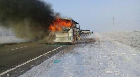 Озвучена предварительная версия МВД РК о гибели 52 человек в автобусе