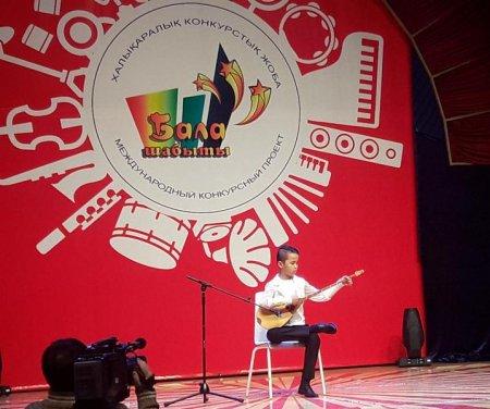 Азамат Нуркожа из Актау занял два вторых места на международном конкурсе «Бала шабыты»