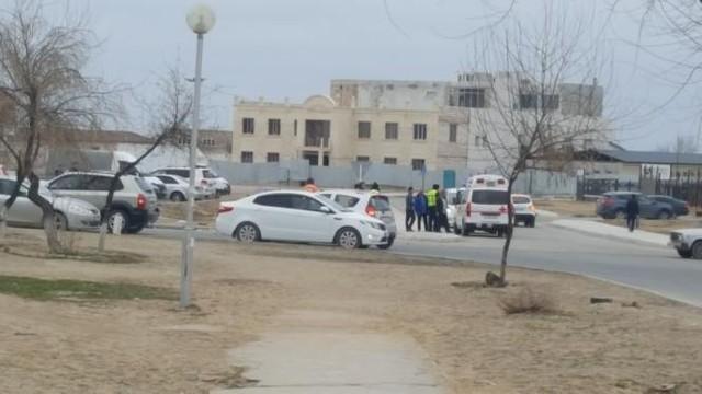 ДТП в Актау: Пострадали двое взрослых и ребёнок