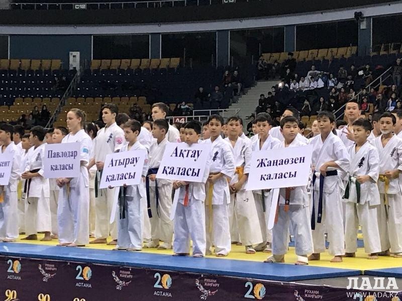 Спортсмены из Актау завоевали пять медалей на чемпионате Казахстана по киокушинкай-карате