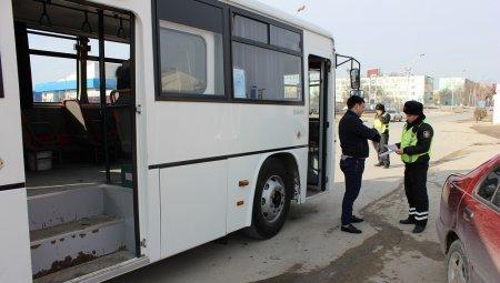 В Актау водителя маршрутного автобуса привлекли к ответственности за езду в пьяном виде